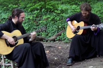 Monah teofil i jeromonah Petar/Photo: YouTube printscreen