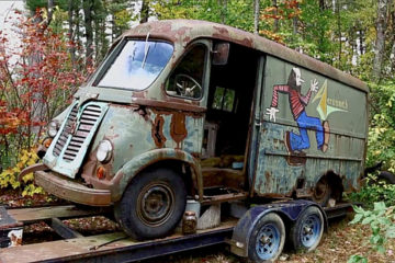 "Aerosmith kombi/Photo: HISTORY CHANNEL/""AMERICAN PICKERS"""