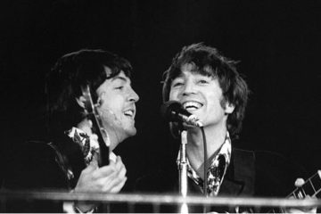 Džon Lenon i Pol Makartni/Photo: JIM MARSHALL PHOTOGRAPHY LLC, 1966