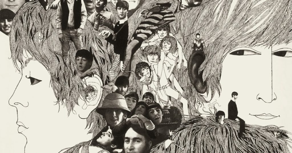 The Beatles, Revolver/album cover
