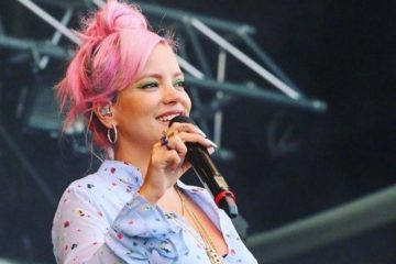 Lili Alen/Photo: facebook@lilyallen