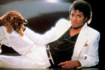 """Majkl Džekson, cover albuma """"Thriller"""""""