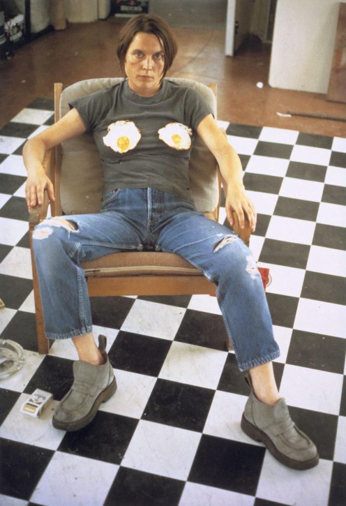 Sarah Lucas Self Portrait With Fried Eggs