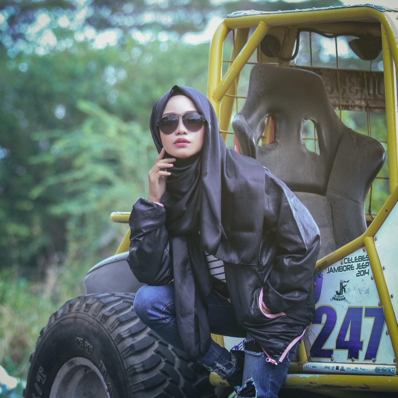 Rokerka s burkom/Photo: munawarah-jusman.blogspot.com