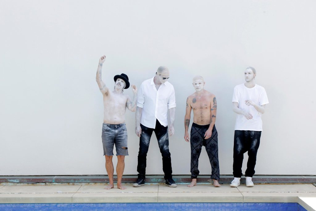 RHCP/Photo: facebook@ChiliPeppers