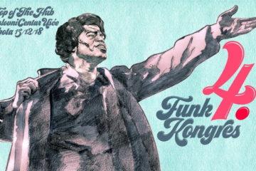 4. Funk kongres (vizual događaja)/autorski rad akademskog umetnika Vuka Đuričkovića