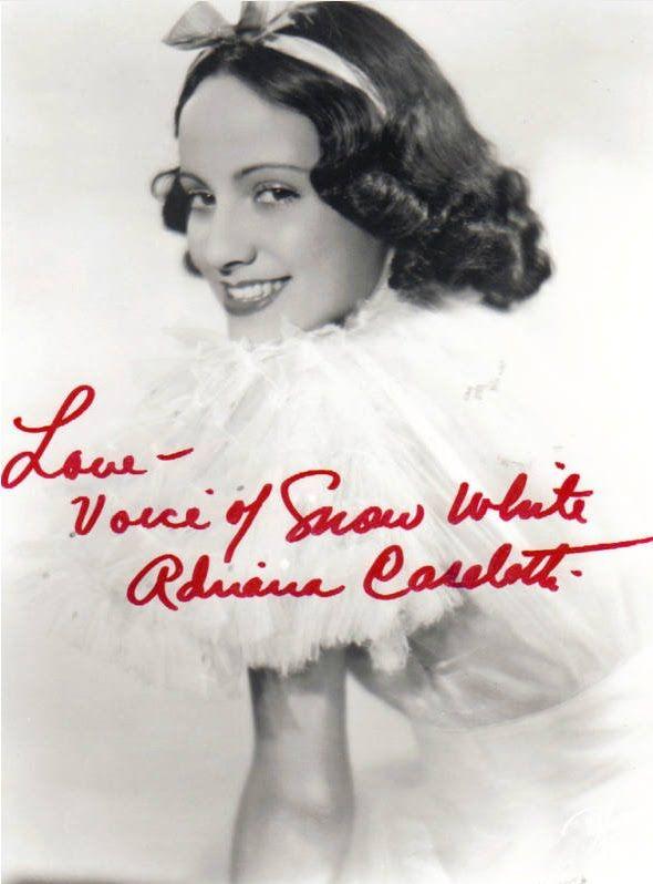 Adriana Caselotti/YouTube printscreen