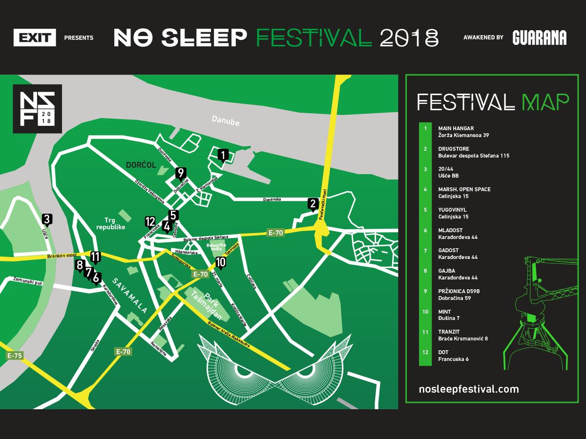 No Sleep festival/Promo
