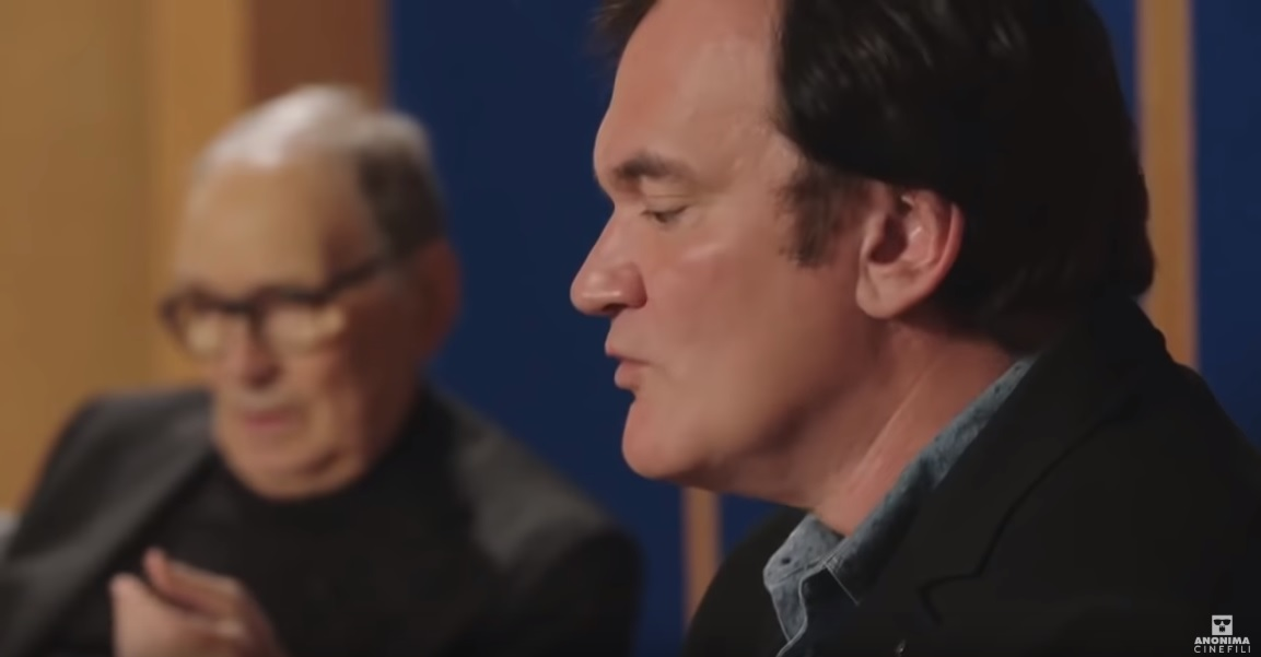 Enio Morikone i Kventin Tarantino/Photo: YouTube printscreen