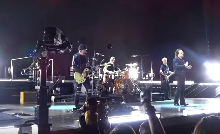 U2/Photo: YouTube printscreen