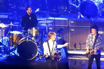 Pol Makartni, Ringo Star i Roni Vud/Photo: YouTube printscreen