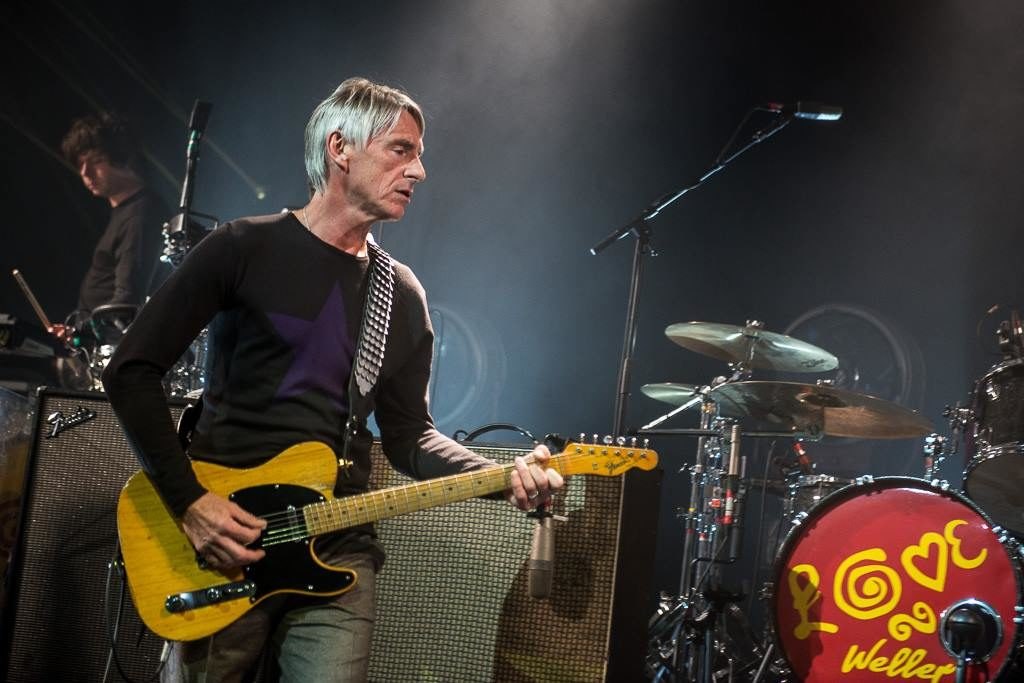 Pol veler/Photo: facebook@paulwellerofficial