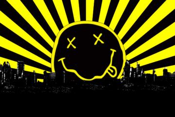 Nirvana logo/wallpapercave.com