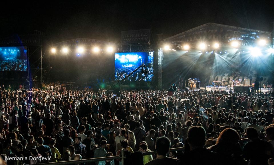 Nišville Main stage/Photo: Nemanja Đorđević