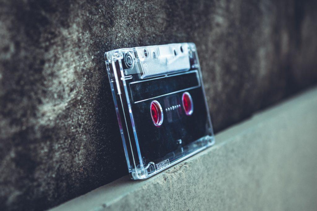 Audio kasete/Photo; Pexels