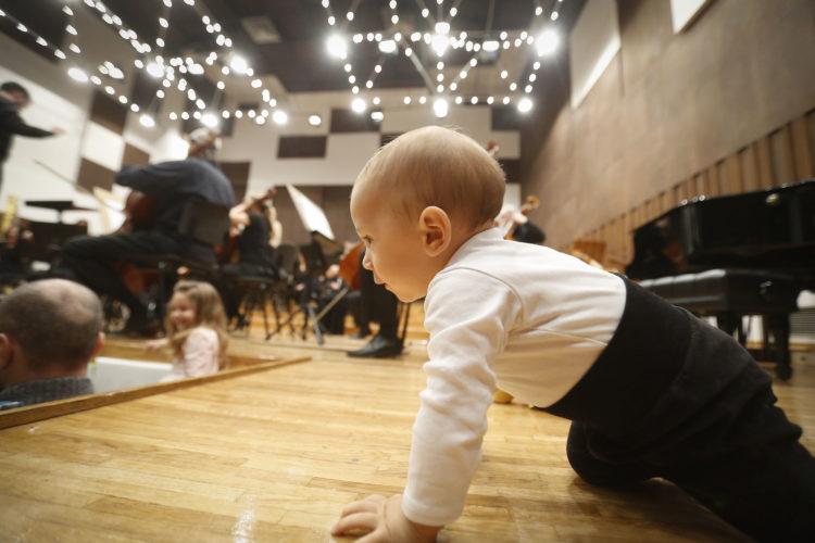 Beogradska filharmonija (koncerti za bebe)/ Photo:  bgf.rs