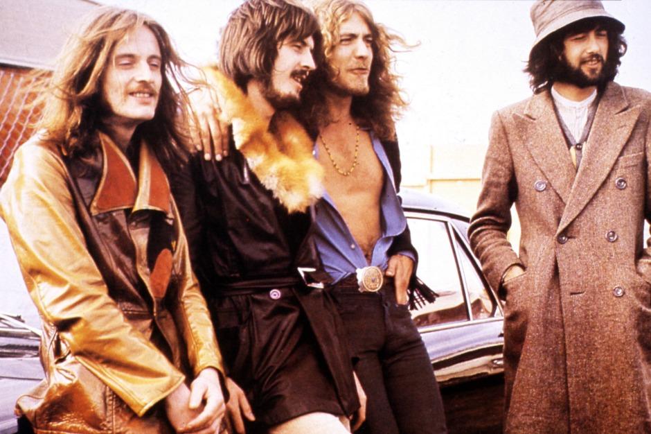 Led Zeppelin/Photo: spin.com
