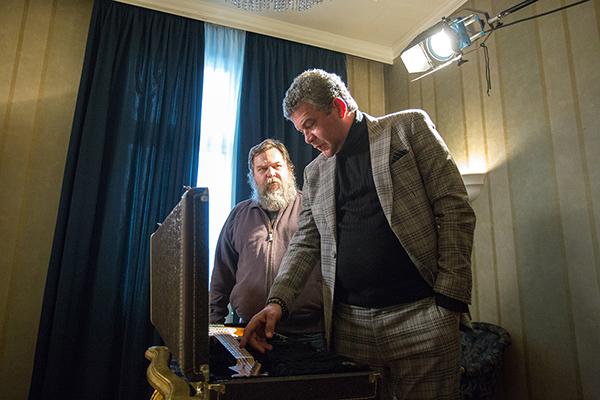 Nebojša Glogovac i Kolja/ Photo: Marijana Janković