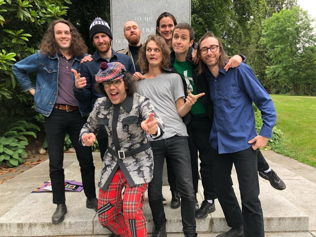 King Gizzard & The Lizard Wizard /Photo; facebook@kinggizzardandthelizardwizard