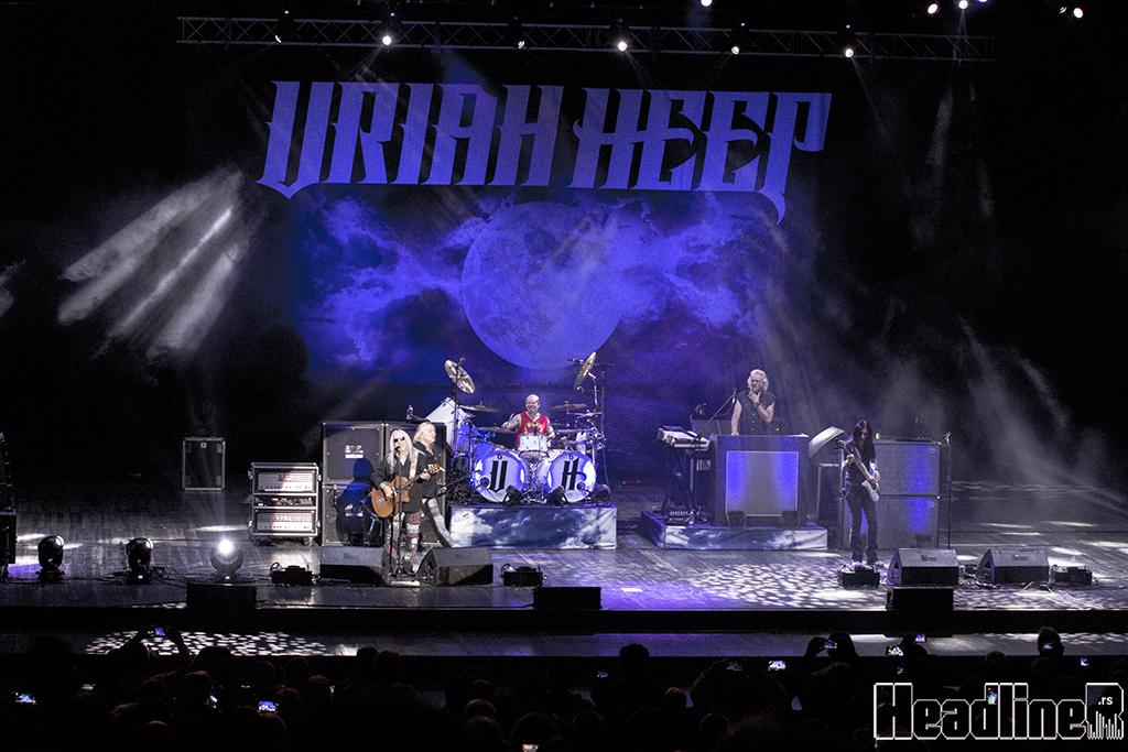 Uriah Heep, Beograd, 5. 2. 2019./Photo: Alex