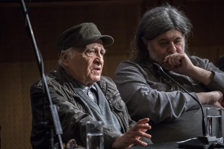 Filip David i Teofil Pančić/ Photo: Igor Pavićević