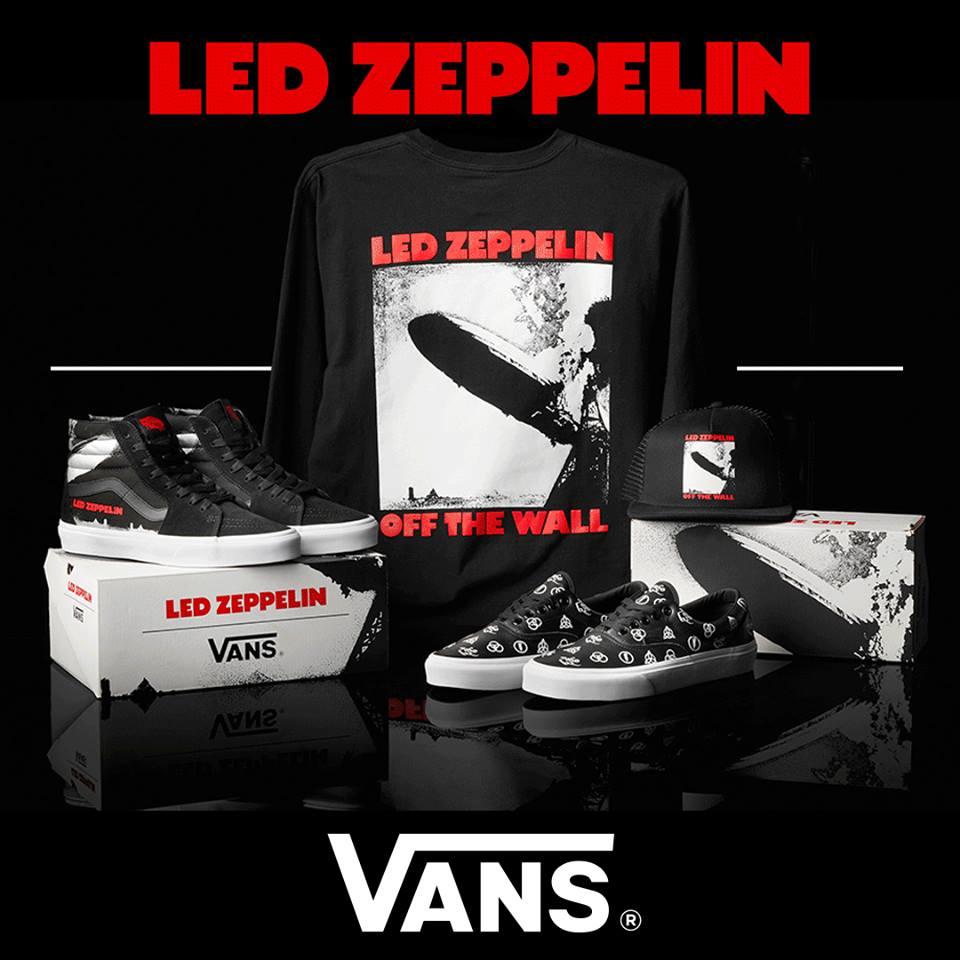 Vans led Zeppelin/Promo