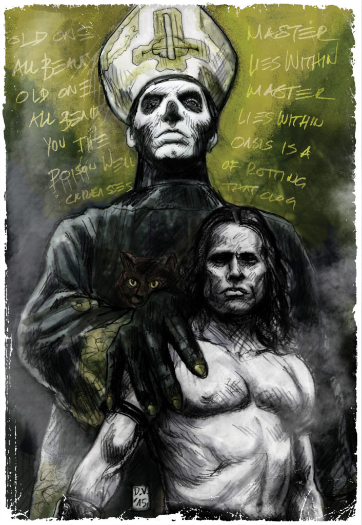GhostDanzig, Ilustracija, David Vartabedijan