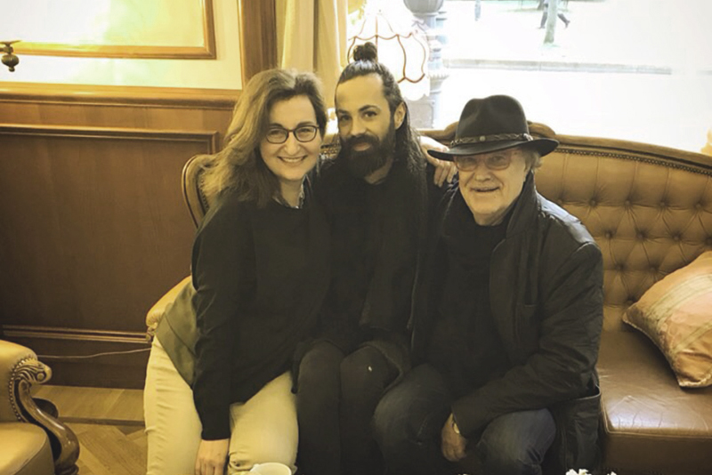 Nataša Mišković, Božo Vrećo i Lordan Zafranović/Photo: instagram