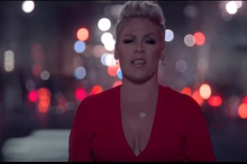 P!nk /Photo: YouTube printscreen