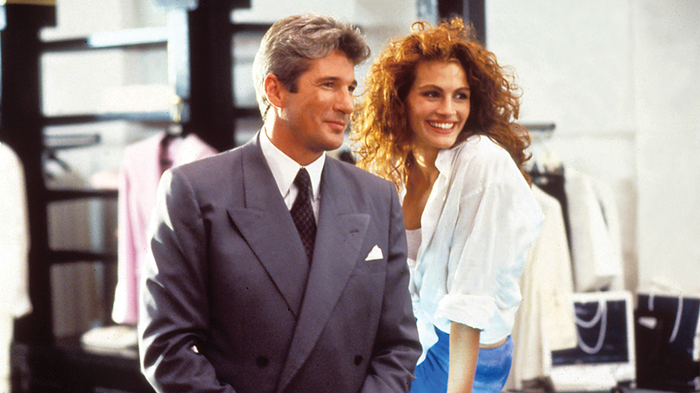 Pretty Woman/printscreenMandatory Credit: Photo by Moviestore/REX/Shutterstock (1609305a) Pretty Woman, Richard Gere, Julia Roberts Film and Television