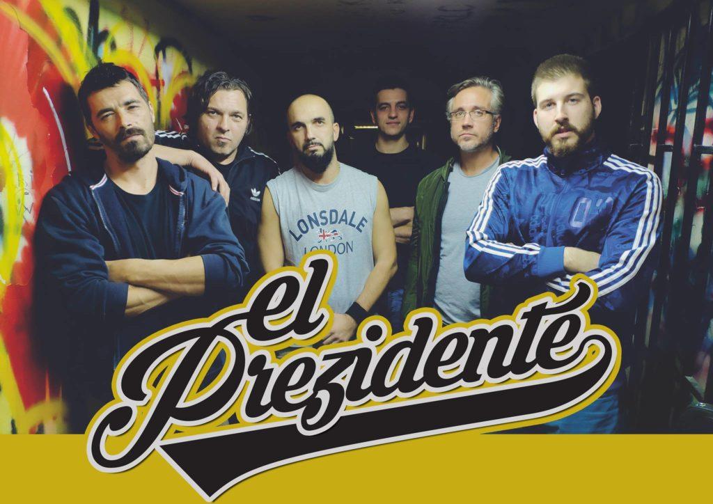 El Pre3idente Band/ Photo: Facebook @elprezidenteband