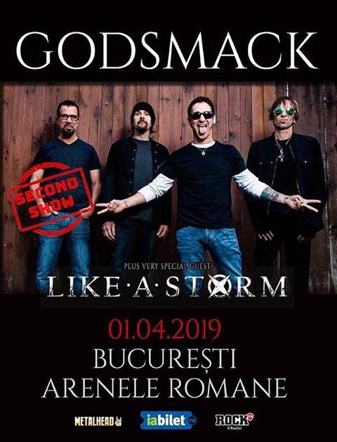 Godsmack , plakat