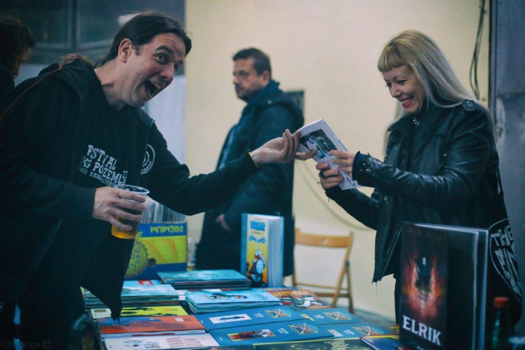 Milan Rakić i Danica Bićanić/ Photo: Vovka Chudinov