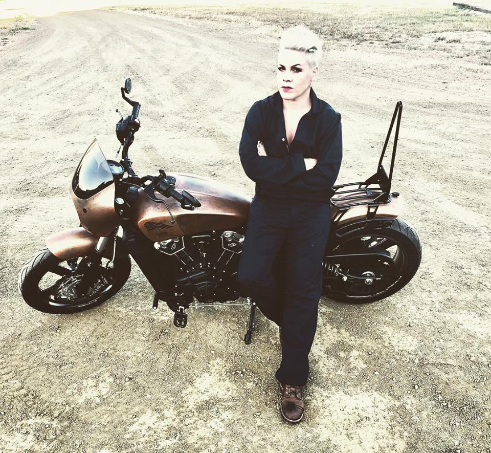 P!nk/Photo: facebook@pink