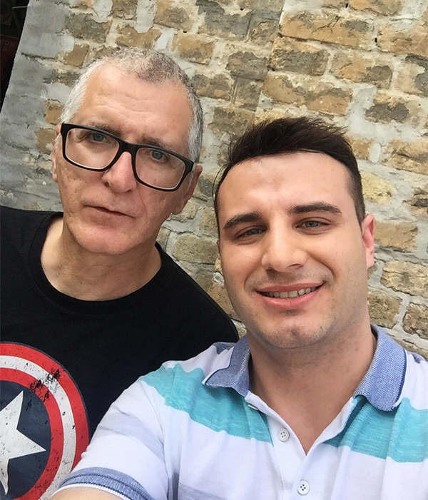 Gile i Mirko/ Photo: Privatna arhiva