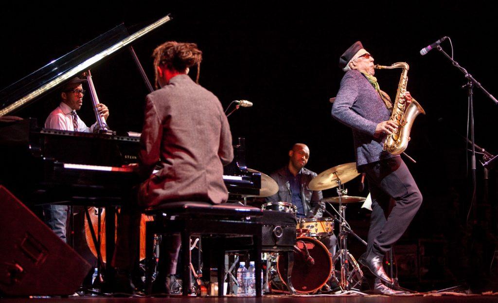 Charles Lloyd New Quartet/ Photo: John Watson
