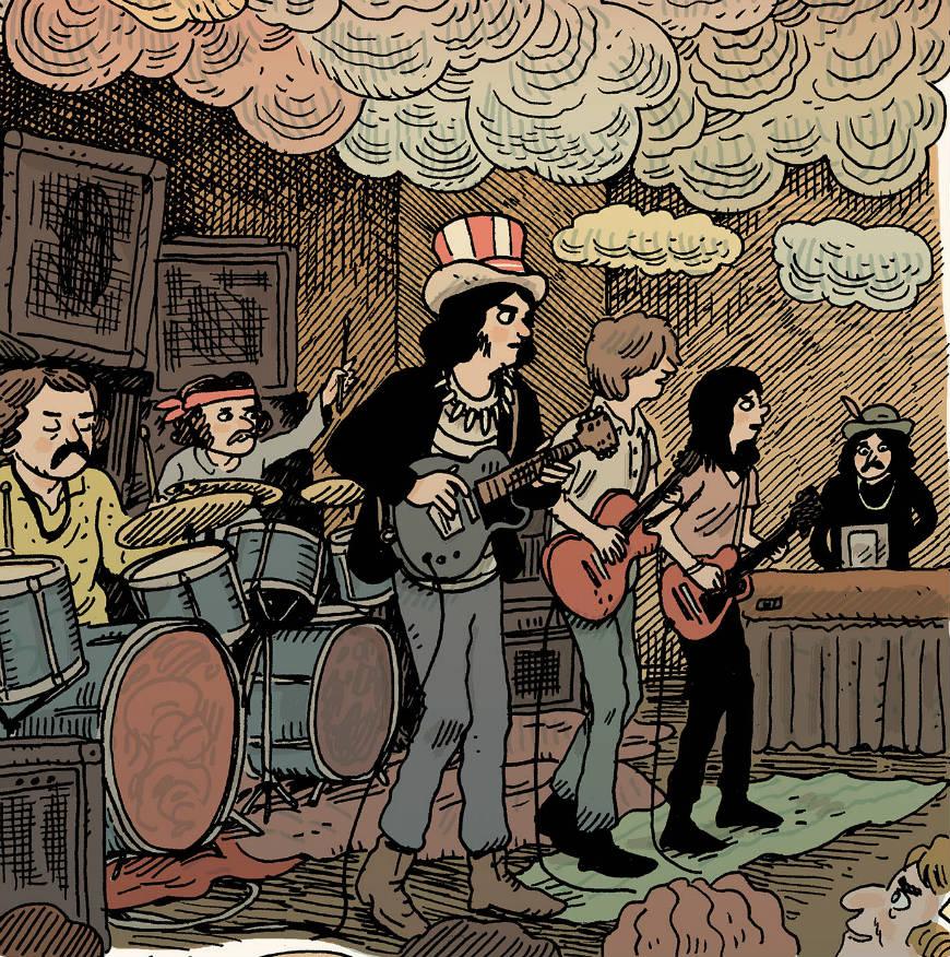 Grateful Dead/Z2 Comics