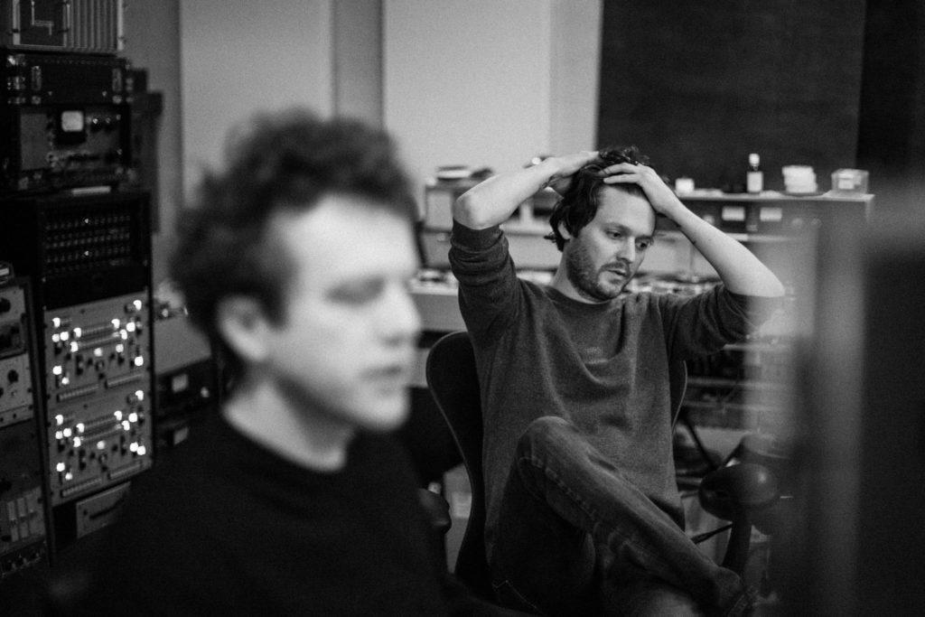 Zak Kondon in Berlin Studio/ Photo: Olga Baczynska