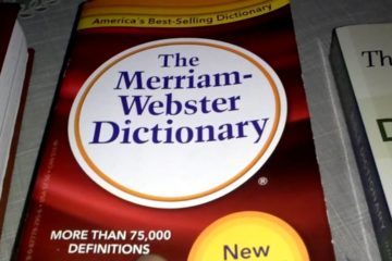 Merriam - Webster Dictionary/Photo: YouTube printscreen