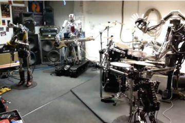 Roboti bend/facebook printscreen