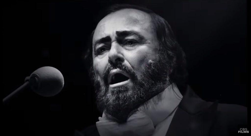Lučano Pavaroti/ Photo: youtube.com printscreen
