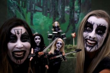 Black Metal Barbie/Photo: YouTube printsreen