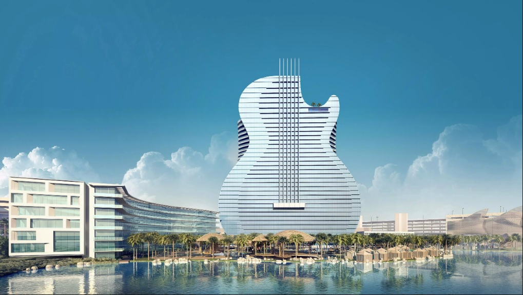 Hard Rock Casino Guitar Shaped Hotel