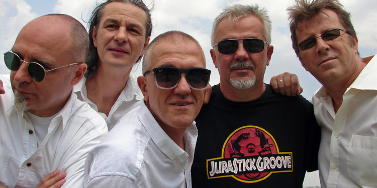 Dejan Cukić i Spori ritam bend/ Photo: Aleksa Cukić