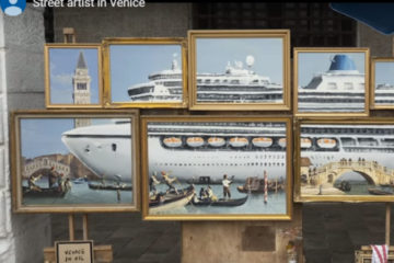 Benksi u Veneciji/Photo: YouTube printscreen
