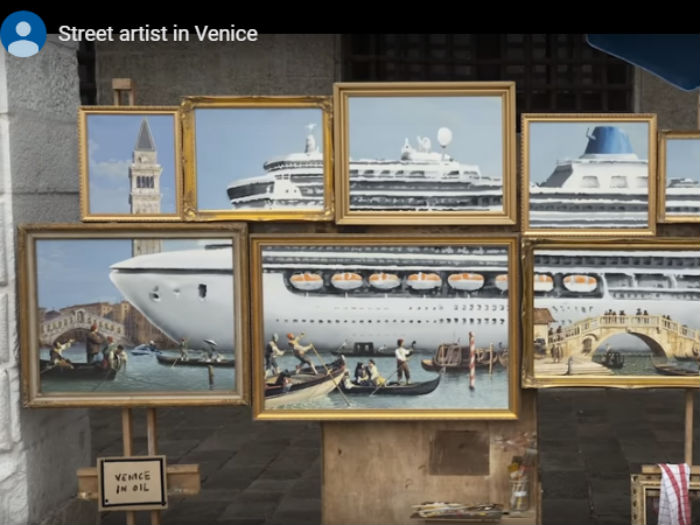 Benksi u Veneciji/Photo: YouTube printscreen