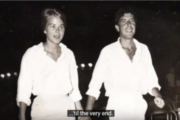 Marianne & Leonard: Words Of Love/YouTube printscreen