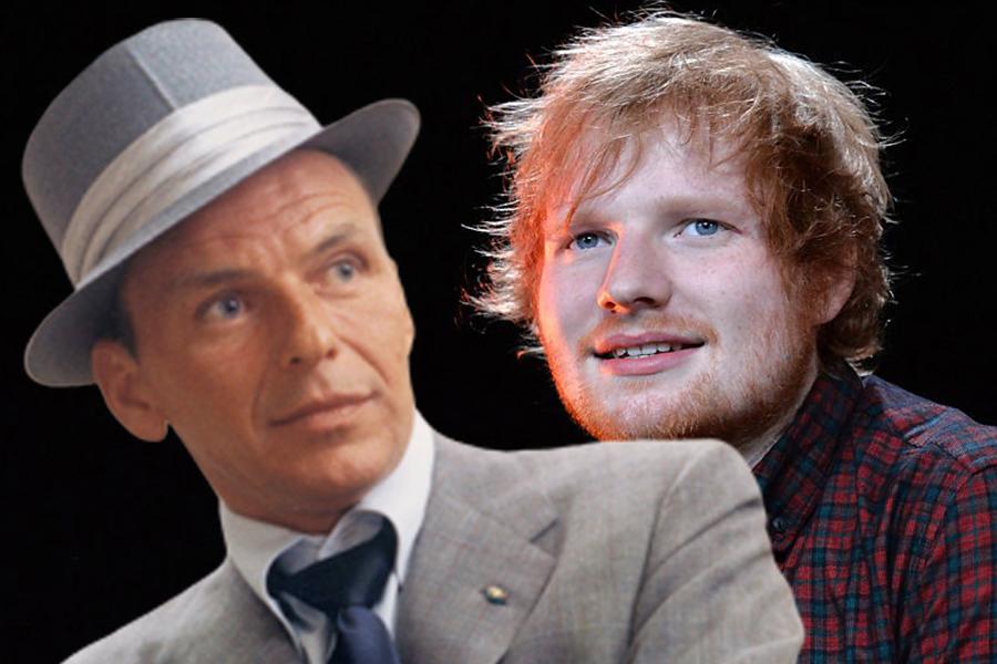 Frenk Sinatra i Ed Širan/Photo: YiouTube printscreen