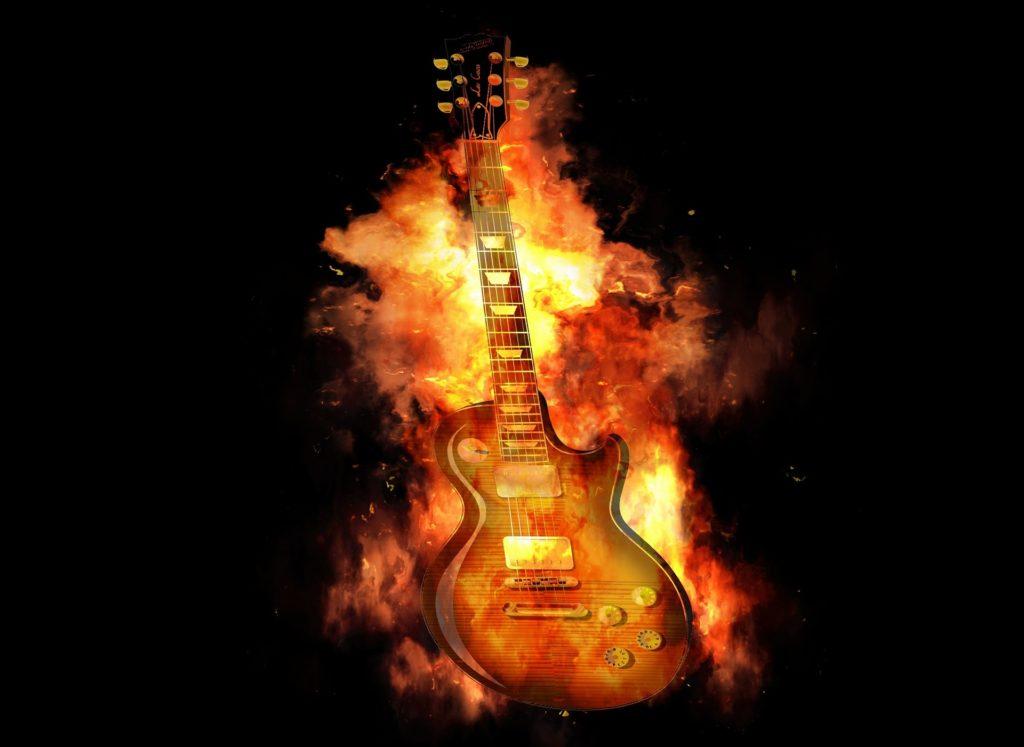 Guitar Fire/Photo: Pixabay.com