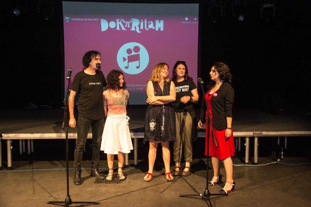 Putnici (dodela nagrade)/ Photo: Promo (Dok'n'Ritam)